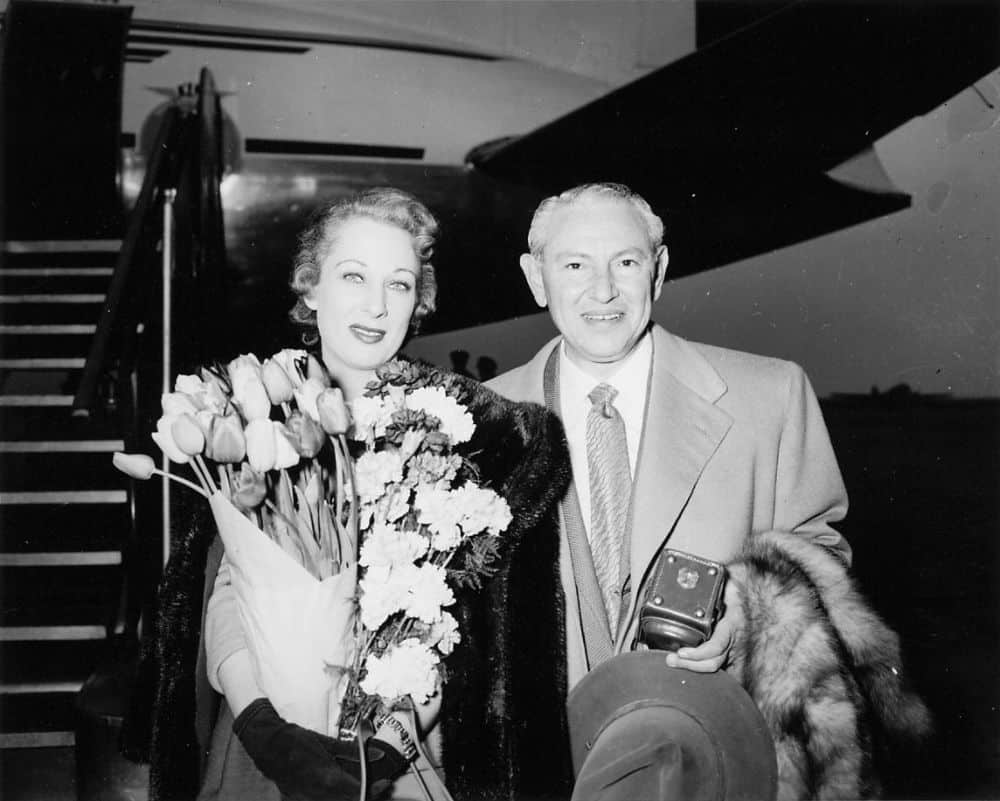 Max Factor and his wife Mildred Dorothy Cohen-Factor
