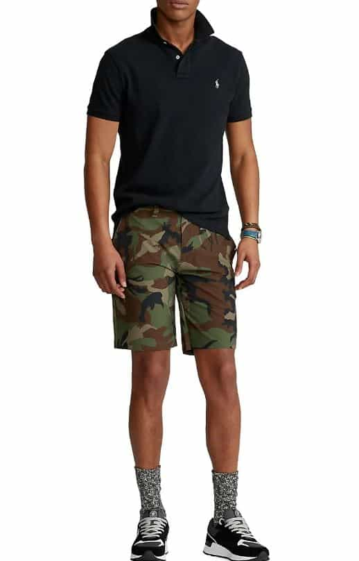 This is the Polo Ralph LaurenCamouflage Shorts from Saks Fifth Avenue.