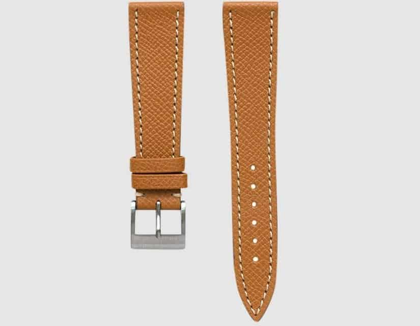 This is the whiskey tan epsom strap from Molequin.