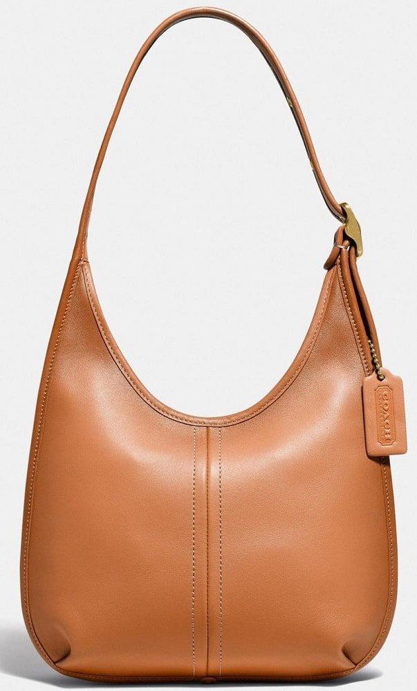 The Ergo Shoulder Bag In Original Natural Leather by Coach.