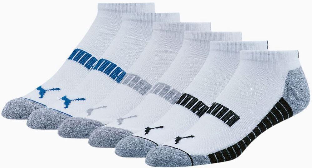 The Wordmark 1/2 Terry Men's Low Cut Socks from Puma.