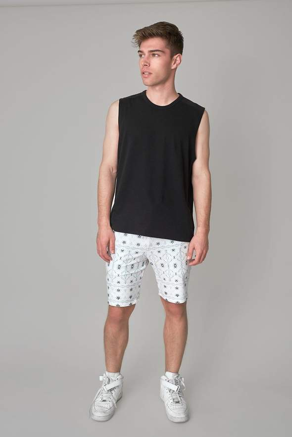 Men's Alpine Short with patterns from Wolven.