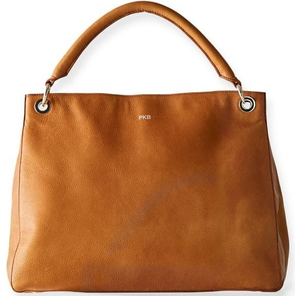 The Build Your Bag in brown leather by Mark and Graham.