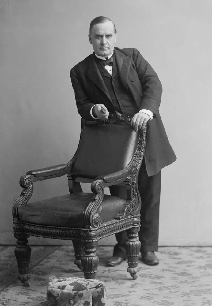 Congressman William McKinley represented a district in Northeast Ohio.