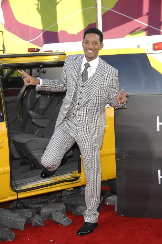 Will Smith at Premiere of Hancock.