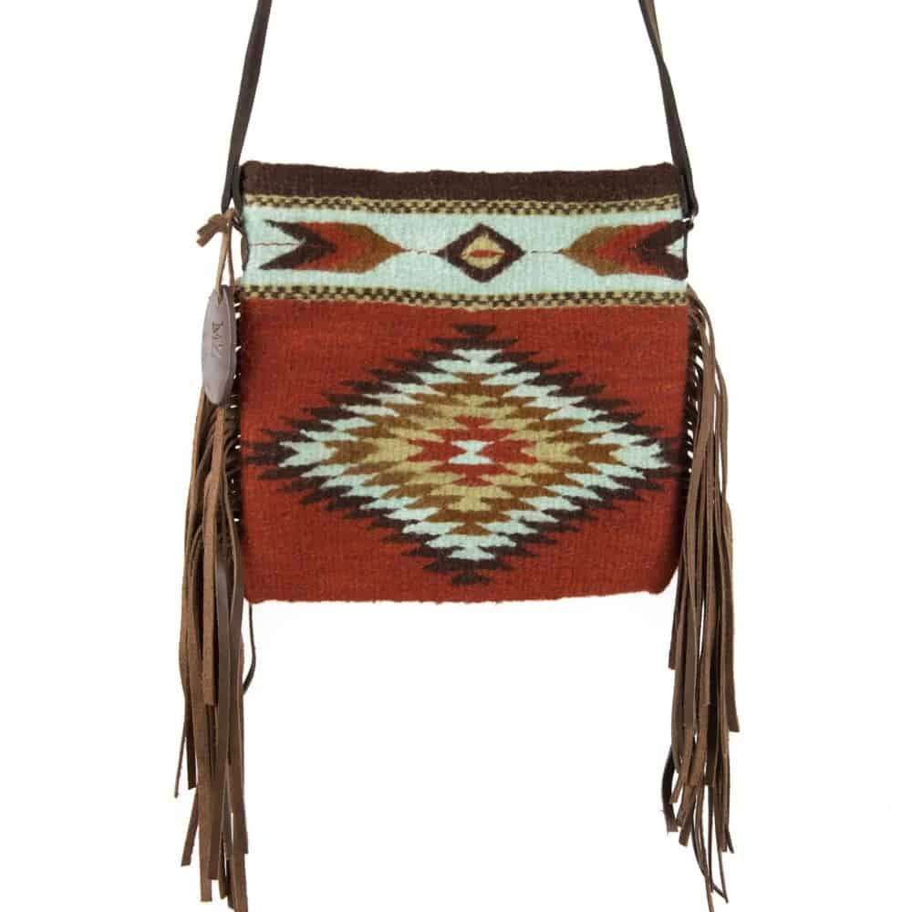 The Colornation Fringe Bag by MZ Fair Trade.