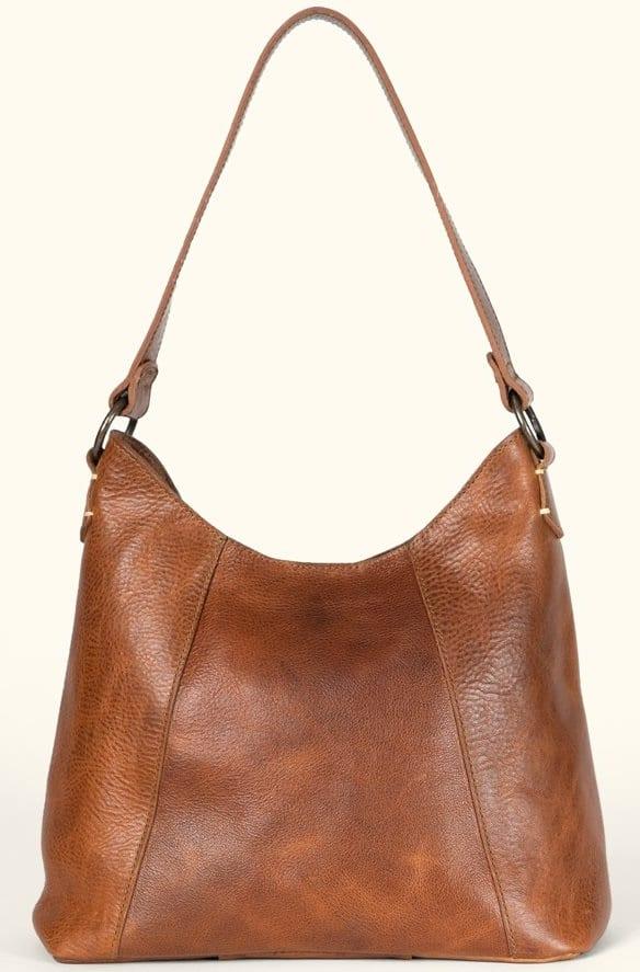 The Walker Leather Shoulder Bag by Buffalo Jackson Trading Company.