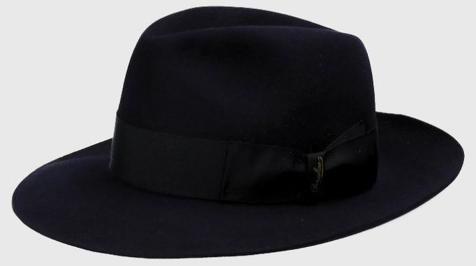 This is the Borsalino Felt Alessandria Wide Brim in black.
