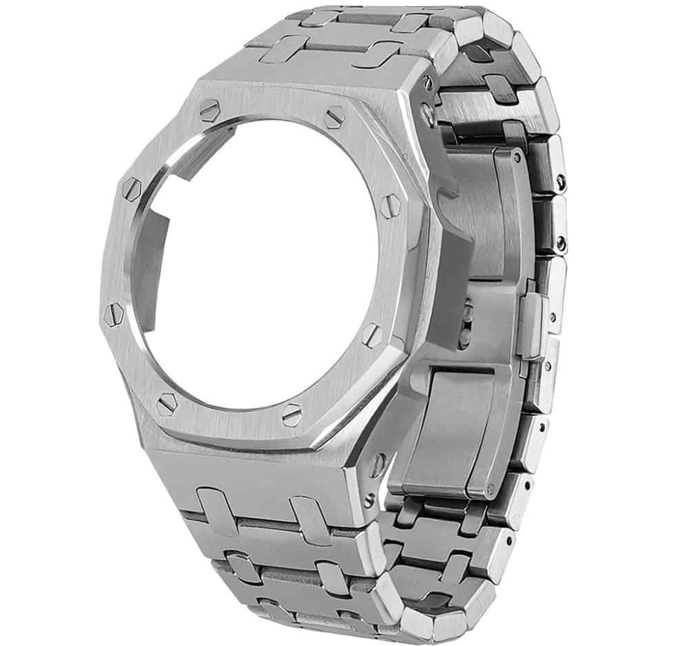 The G-Shock GA2100 Replacement Metal Watch Case and Band from Ritche.