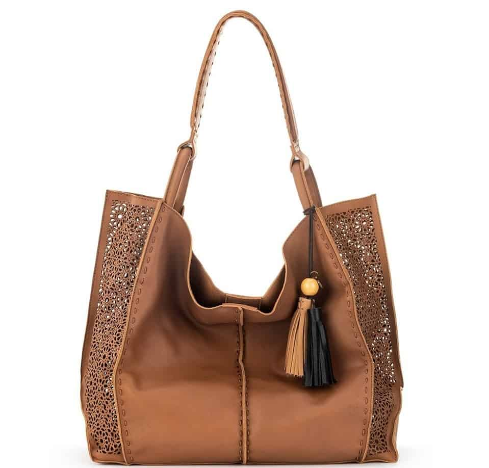 The Los Feliz Large Leather Tote by The Sak.