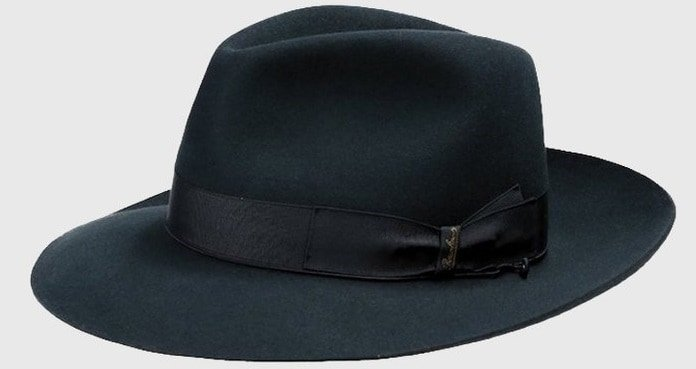 This is the Folar large Brim Fedora Hat from Borsalino.
