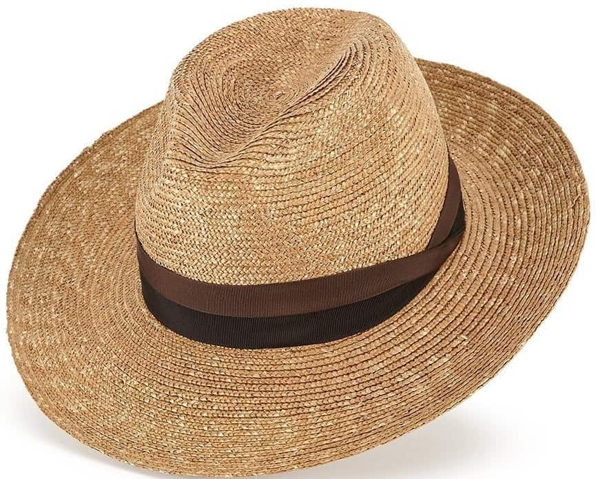 This is the Lock & Co. Hatters Tuscany Fedora in brown.
