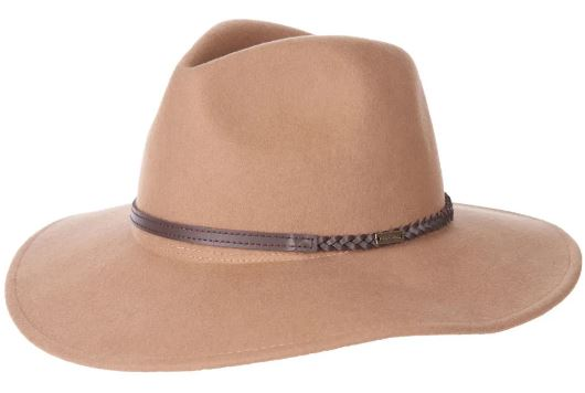 This is the Barbour Tack Fedora Hat from Outdoor and Country.