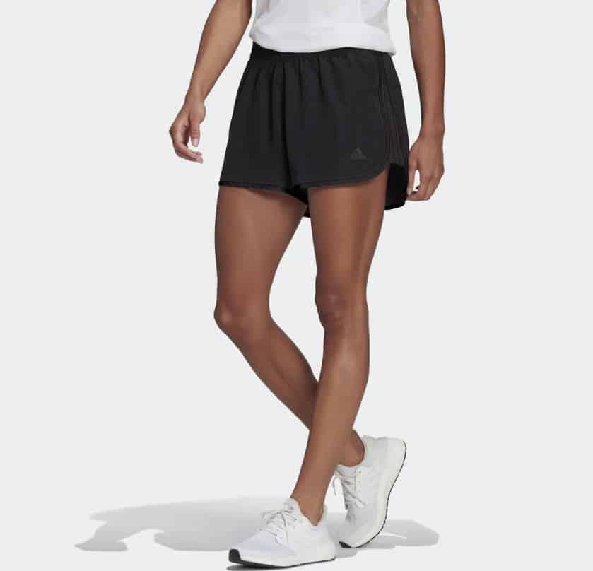 The black Marathon 20 Shorts from Adidas.