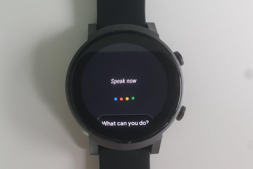 ticwatch e3 google assistant