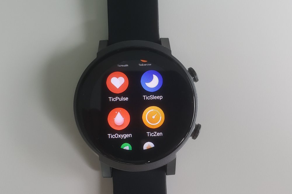 ticwatch e3 display