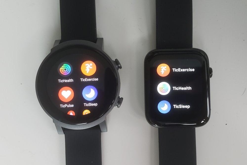 ticwatch e3 vs ticwatch gth