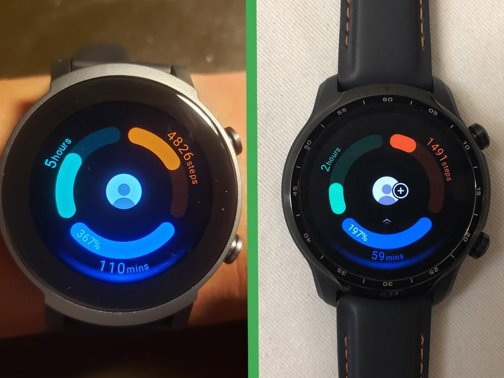 ticwatch e3 vs ticwatch pro 3 health apps