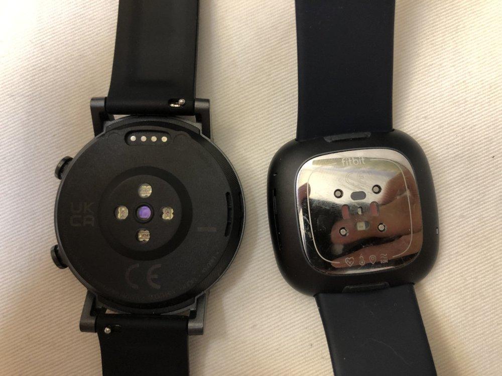 ticwatch e3 vs fitbit sense