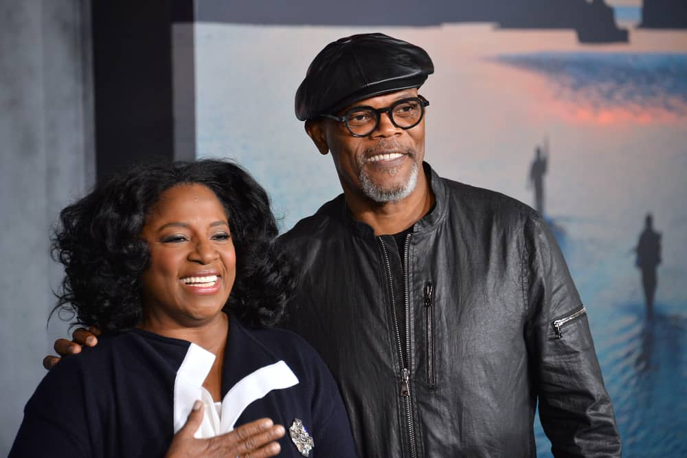 Samuel L. Jackson was wearing a leather ivy cap back in 2017 at the movie premiere.