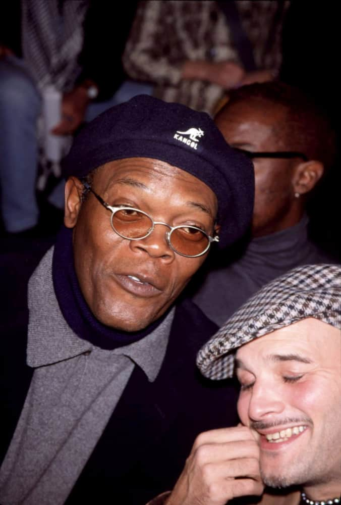 Samuel L. Jackson was photographed back in 1999 wearing an ivy cap at a fashion show.