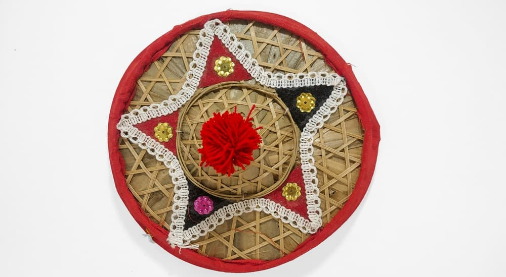 This is the jaapi which is an Indian traditional conical hat.