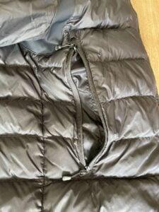Large zipper exterior pocket Canada Goose Base Down Jacket