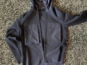 Front view of the Elgin Knit Hoody by Canada Goose