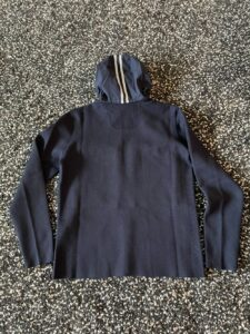 Rear view of the Elgin Knit Hoody by Canada Goose