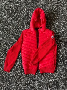 Front Hybridge Knit Hoody by Canada Goose