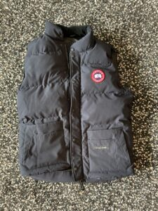 Front view of Canada Goose Freestyle vest