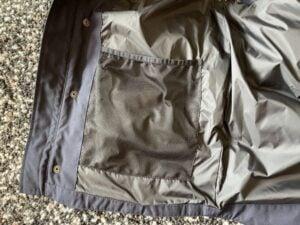 Mesh inside pocket for Canada Goose Freestyle vest