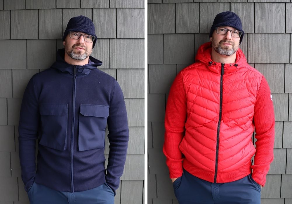 Canada Goose hoodies