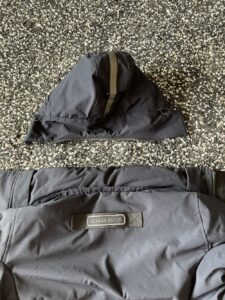 Hood removed on Brockton Parka by Canada Goose