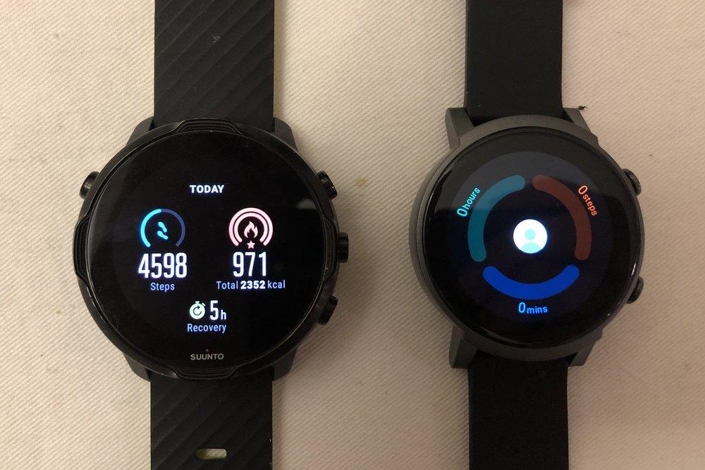 ticwatch e3 vs suunto 7