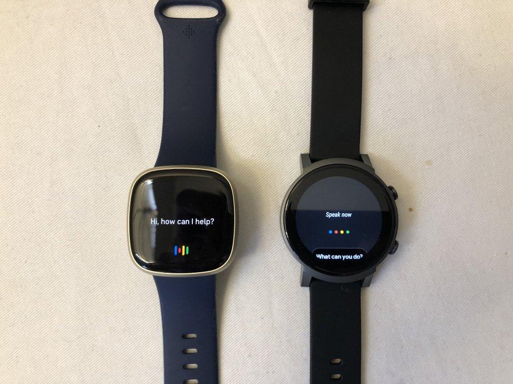ticwatch e3 vs fitbit versa 3